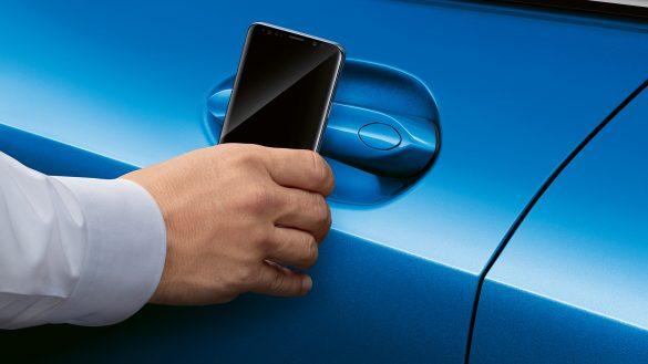 BMW 1er digital key