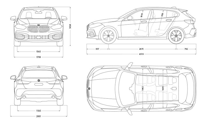 Technische Daten BMW 1er
