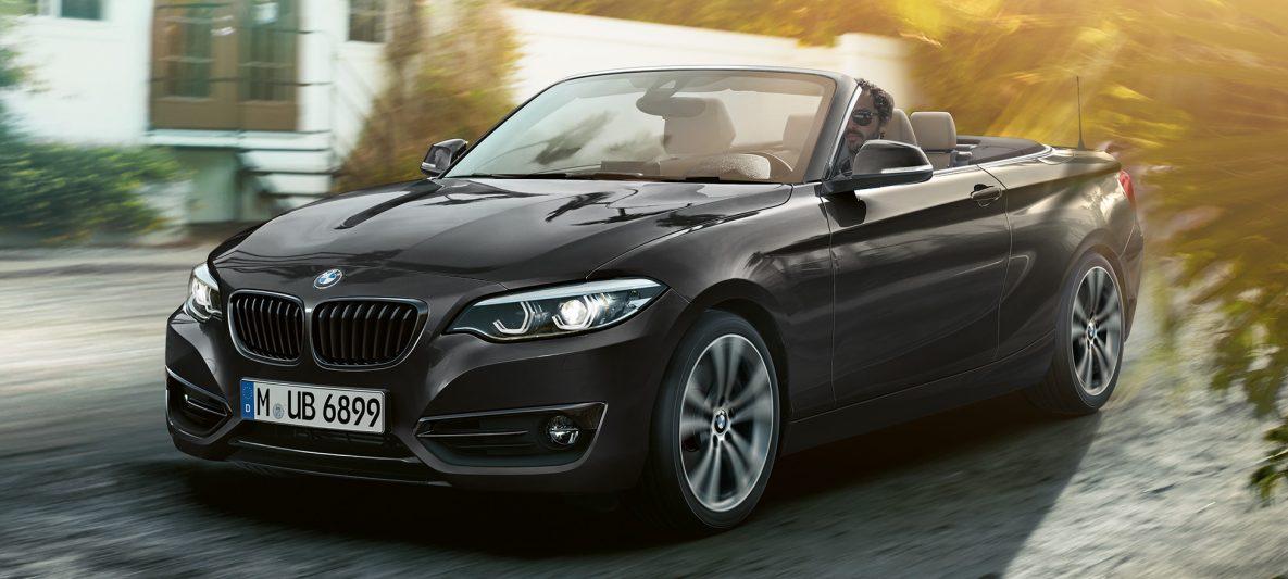 BMW 2er Cabrio, Frontdesign