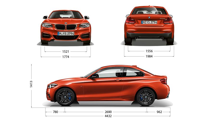 Technische Daten BMW 2er Coupé