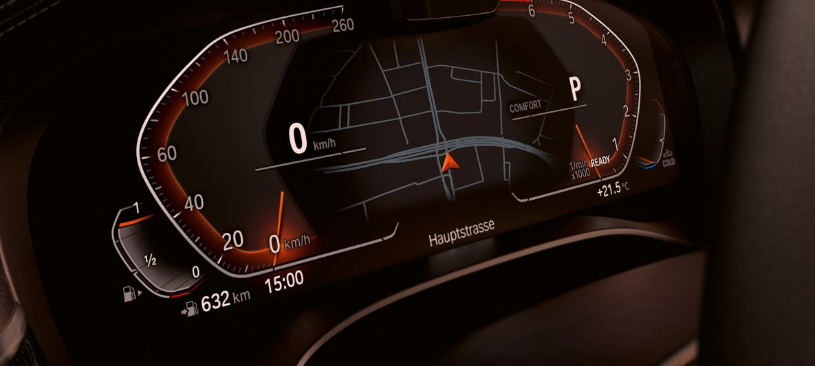 BMW Live Cockpit Professional BMW 6er Gran Turismo G32 2020 Interieur