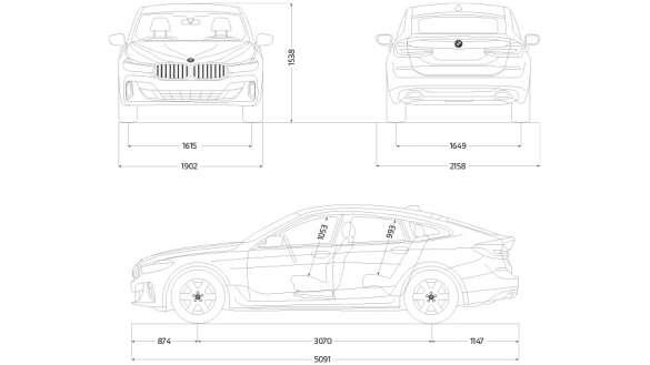 Technische Daten BMW 6er Gran Turismo