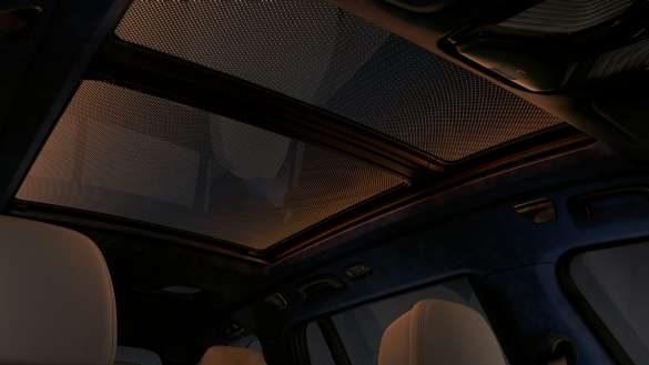 BMW X7 Panorama-Glasdach