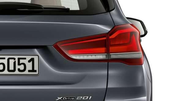 BMW X1 Heckleuchten in LED Optik