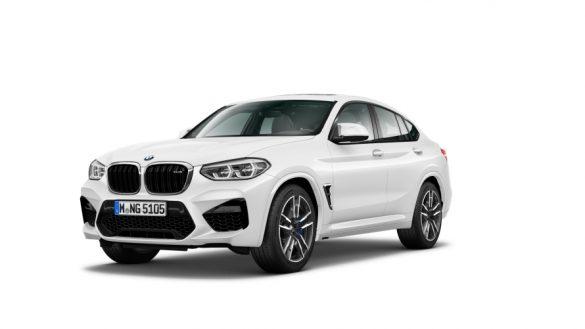Dreiviertel-Frontansicht BMW X4 M F98 LCI 2021