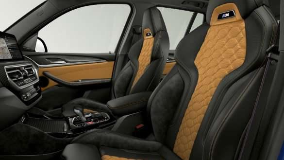 BMW X3 M Competition F97 LCI Facelift 2021 M Sportsitze Innenraum
