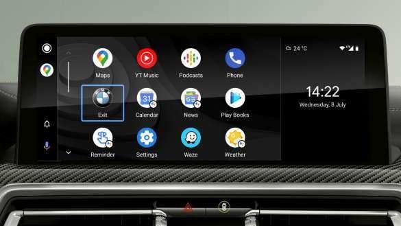 BMW X3 M Automobile F97 G01 LCI Facelift 2021 Smartphone Integration Control Display