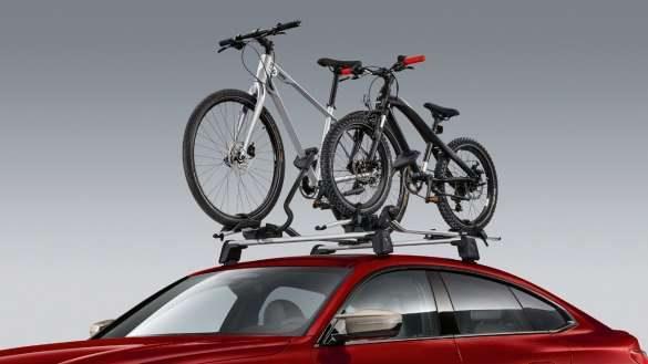BMW Fahrraddachträger.